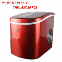 2 2L Compact Ice Maker Portable Deluxe Mini Cube Counter Top Machine  26 lb day