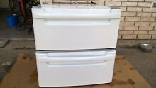 LG  Washer   Dryer Pedestals Color   White