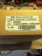 00486909 NEW  THERMADOR Main Relay Control Board  Fact sealed in box  Part NLA