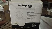 Koldfront KIM202W 10  Wide 1 5 Lbs  Capacity Portable Ice Maker