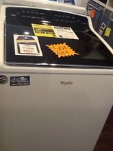 White Whirlpool Cabrio Top Load Washer WTW8500DW2