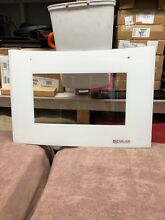 JENN AIR RANGE GLASS DOOR   W10272330 WPW10272330   White   Excellent Condition