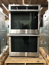 Samsung 30  Double Electric Steam Wall Oven Self Clean w  Convection NV51K6650DS