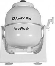 Avalon Bay Ecowash Portable Hand Cranked Manual Clothes Non Electric Washing By