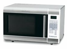Stainless Steel Microwave Oven Cuisinart 1 Cubic Foot 1000 Watt Silver New