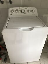 GE 4 2 cu ft High Efficiency Top Load Washer  White  GTW460ASJ6WW USED