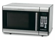 Stainless Steel Microwave Oven Cuisinart 1 Cubic Foot 1000 Watt Black New