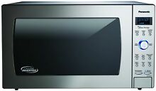 Panasonic Cyclonic Wave Microwave Inverter Technology 2 2 cu  ft 1250W Stainless