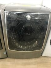 LG   9 0 Cu  Ft  14 Cycle Gas Dryer with Steam and Wi Fi Connectivity   Graphite