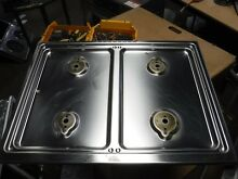 Thermador stainless range top from rdds30v gas