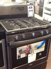 Black Stainless Steel Whirlpool Gas Range With 5 Burners WFG525S0HV