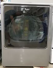 New Whirlpool High Efficiency Electric Dryer Intuitive Touch Chrome Shadow Steam