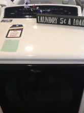 New Open box Whirlpool Cabrio Electric  Dryer WED8000DW comes with full warranty