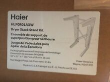 Haier dryer stack stand kit HLPOR01AXW  for HLP141E dryer