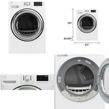 Kenmore White Electric Dryer w  Steam   Dual Sensor Dry Feature   Wrinkle Guard