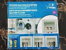 Washing Machine Outlet Box No 24763   Reliance Worldwide Corp