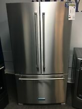 KitchenAid 36  French Door Refrigerator Model  KRFF305ESS