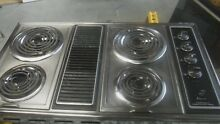 Ge 36 inch stainless downdraft cooktop with coil hard to find unit