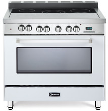 Verona VEFSEE365W 36  Electric Range Single Oven Convection True White