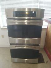 GE Profile 27  Built In Double Wall Oven with Convection Stainless Steel 26 1 2W