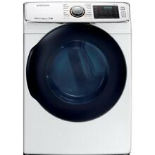 Samsung 7 5 cu  ft  Electric Dryer w  Steam in White  ENERGY STAR   DV45K6500EW
