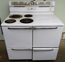 Vintage Antique General Electric GE 1950s Stove Oven Range
