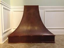 Custom Copper Hoods or Any metal  with Vent Motor  LINER  WAll Or Island Hood
