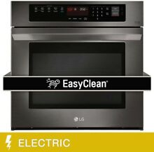 LG 4 7CuFt Capacity 30  Built in Single Wall Oven With Crisp Convection