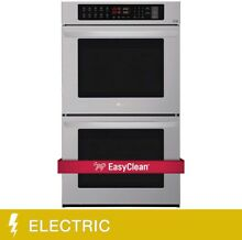 LG 9 4CuFt Capacity Double Wall Built In Oven With Crisp Convection
