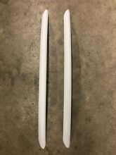 Set Of 2  FRIGIDAIRE  DOOR HANDLE WHITE 297290920 297437820