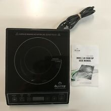 DUXTOP Induction Cooktop Countertop Burner Model 9100MC  1800 Watt Portable