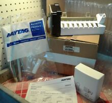 NOS Genuine Maytag UNVIM98 Universal Refrigerator Ice Maker Kit Whirlpool In Box
