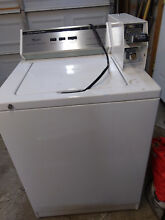 Commercial washer coin operated whirpool top loader cam2742tq2