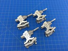 Genuine GE Range Oven Burner Gas Valve Assembly WB19K5028 WB19K5027 Set of 4