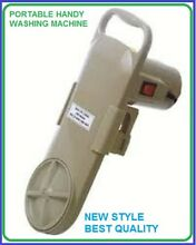PORTABLE SMALL HAND WASHING MACHINE NOT AUTOMATIC ANY USE FAMILY ELECTRONIC 579