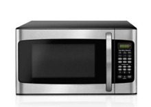 Hamilton Beach Kitchen Microwave Oven Stainless Steel 1 cu ft Countertop Range