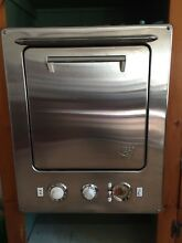 VINTAGE 1950s L H stainless steel wall oven