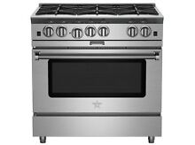 Bluestar BSP366B 36  Stainless Steel Gas Range