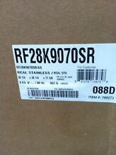 New In Box Samsung 28 CF Stainless Steel French Door Refrigerator Flex Drawer
