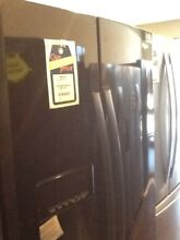 Whirlpool Black stainless steel Refrigerator WRS588FIHZ