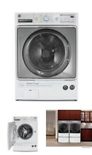 Front Load Washer SteamTreat Option Clothes Washing Machine Laundry Large Load