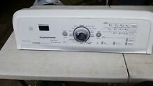 Maytag Bravos Washer  W10143425  and User Interface W10051111