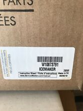 W10873791 For Whirlpool Refrigerator Icemaker