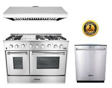 48  Gas Range Thor Kitchen 3 Piece Bundle
