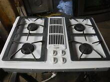 Jenn Air JGD8130AD white 30 in  Gas Gas Cooktop