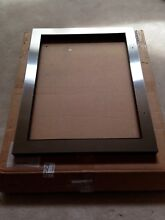 Genuine Sub Zero 7002692 Wine Cooler Panel Frame Assembly  LH  STAINLESS STEEL