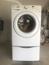 Whirlpool Duet Front Load Washing Machine Model WFW81HEDW0 Pedestal Not Included