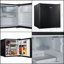 Compact Mini Dorm Small Fridge Refrigerator 1 7 Cu Ft Cooler Office Beer Party