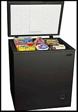 ARCTIC KING 5 0 CU FT BLACK UPRIGHT COMPACT CHEST FREEZER WITH REMOVABLE BASKET