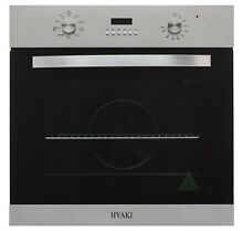 Hyaki 24  Modern Style Stainless Steel Built in Electric Single Wall Oven HYK